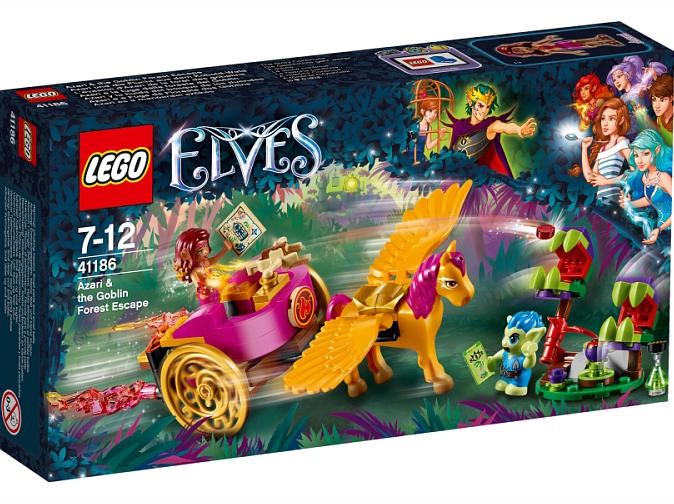 Klocki Lego Elves Azair I Leśna Ucieczka Goblinów 41186 Fotomega