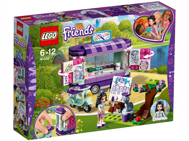 Klocki Lego Friends Stoisko Z Rysunkami Emmy 41332 Fotomega