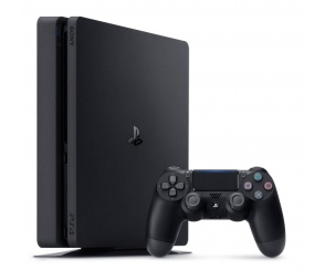 KONSOLA SONY PLAYSTATION 4 SLIM 1TB PS4 BLACK+PAD