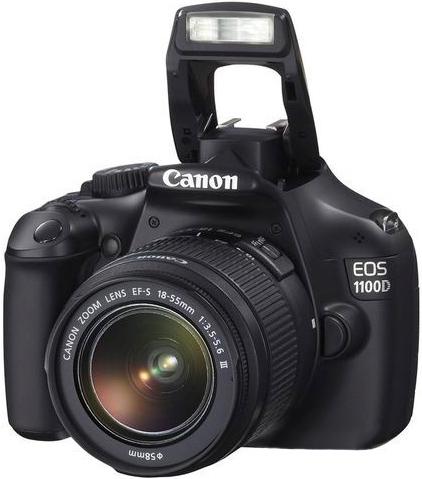 CANON EOS 100D 18-55 DC + 75-300 DC