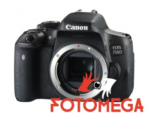 APARAT CANON EOS 750D BODY 24,2Mpx WiFi Full HD