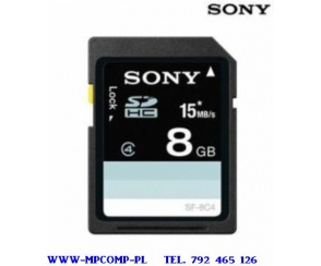 SONY 8 GB SDHC 15MB/S