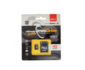 KARTA MICRO SD IMRO 32GB C10 + ADAPTER
