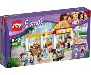 KLOCKI LEGO FRIENDS SUPERMARKET W HEARTLAKE 41118